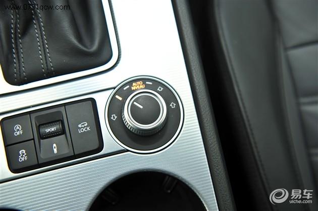 12款途锐中控台按钮图解