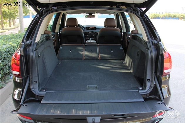 x5后备厢空间(后座放倒)